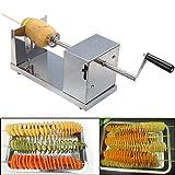 DOBO® Taglia affetta patate a spirale in acciaio inox professionale chips ricciolo
