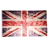 UK Fahne Vintage Retro Flagge United Kingdom 90 x 150 cm Shabby Style