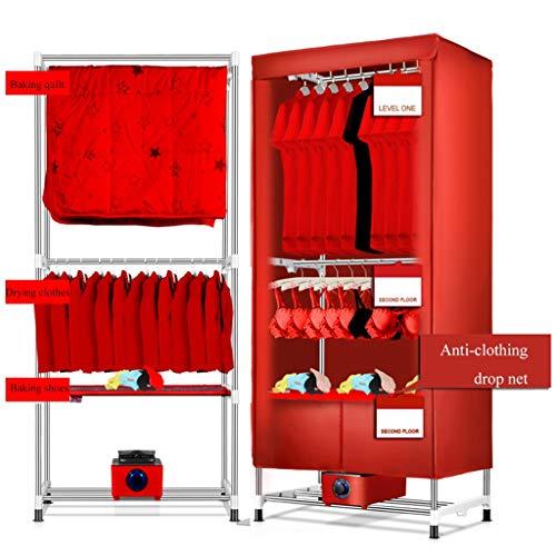 Forwin uk- asciugabiancheria per la casa -1200w quick mute power saving stendipanni in acciaio inossidabile