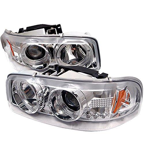 Spyder Auto pro-yd-cde00-hl-c GMC Sierra 1500/2500/3500/GMC Sierra Denali chrom Halo LED Projektor Scheinwerfer mit Austauschbare LEDs