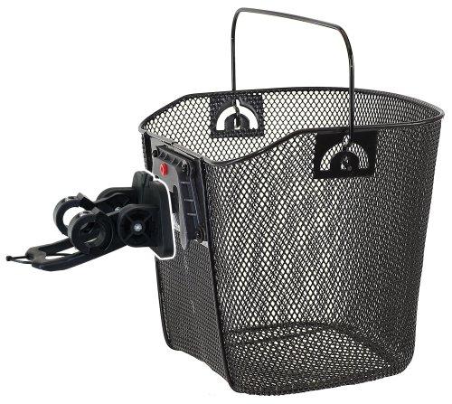 Unbekannt cestino con supporto a clip, 35x25x25/22 cm, colore: nero