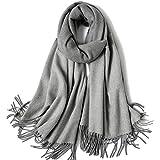 YANHTSO Plaid Wolle Schal Damen Herbst und Winter lange Absatz wilde koreanische Version des Kragens Verdickung großen Schal Dual-Use (Farbe : I)