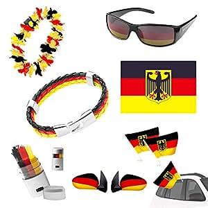 Taffstyle® Fan Set Fanartikel Deutschland