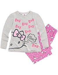 Hello Kitty Mädchen Pyjama Schlafanzug 2016 Kollektion - pink