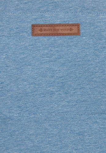 Naketano Female Hoody Blonder Engel IV Light Blue Melange