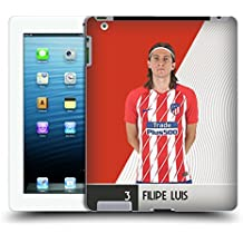 Official Atletico Madrid Felipe Luis 2017/18 First Team Group 1 Hard Back Case for iPad 3 / iPad 4