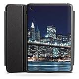 DeinDesign Apple iPad Mini 2 Smart Case schwarz Hülle mit Ständer Schutzhülle Brooklyn Bridge New York Vater