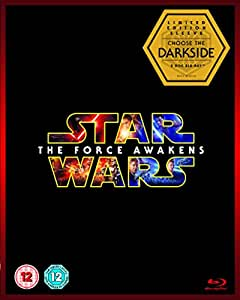 Star Wars: The Force Awakens (Limited Edition Dark Side Artwork Sleeve) [Blu-ray ] [2015]
