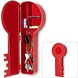 Schlüsselkasten in Schlüsselform Schlüsselbox Schlüsselbrett Schlüsselschrank Ablage rot
