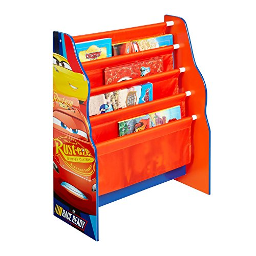 Disney Cars Kids Sling Bookcase - Bedroom Storage by HelloHome Best Price and Cheapest