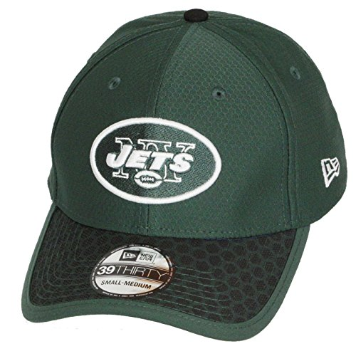the best attitude 8ae88 276ad New Era NFL NEW YORK JETS Authentic 2017 Sideline 39THIRTY Stretch Fit Game  Cap, Größe