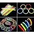"""36x8""""Glow Sticks Bracelet Necklaces night walk Neon Colour Party Favors Rave Disco"""