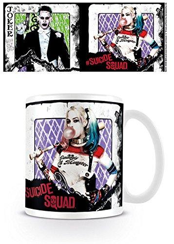 Harley Quinn Suicide Squad carta da gioco ufficiale Joker tazza di caffè