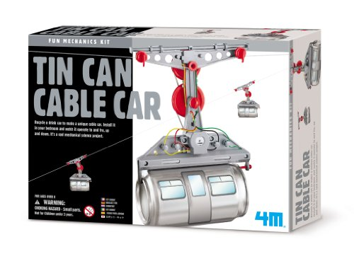 EDU TOYS 4M Tin Can Cable Car