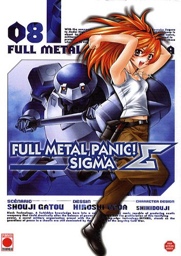 Full Metal Panic Σ (Sigma) Vol.8