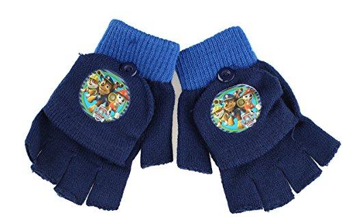Gants - Mitaines 2 en 1 enfant La Pat' Patrouille Bleu Taille unique 3/6ans (Bleu) Marine