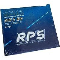 RPS Lot x10Disquetera 5.25MN 2HD High Focus 96TPI Alta Densidad