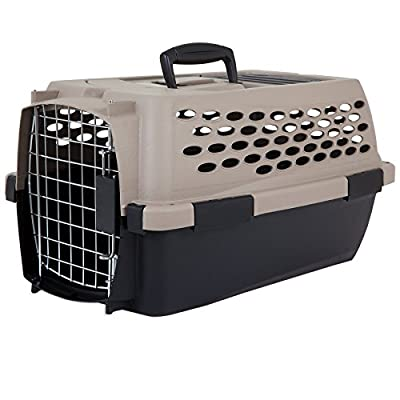 Pet Mate Vari Kennel,Taupe/Black by BEEZTEES