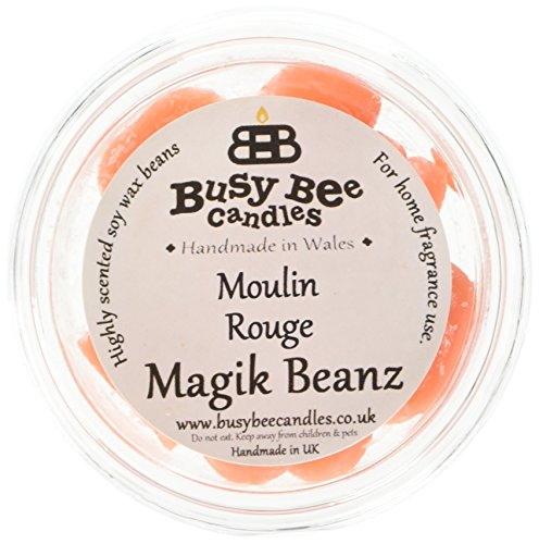 Scheda dettagliata Busy Bee Candles Magik Beanz Moulin Rouge, Colore: Arancione, Confezione da 6