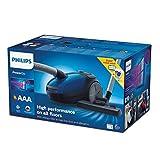 Philips FC8245/09 PowerGo kompakter (Bodenstaubsauger mit Beutel, AAA-Energie-Label, Allergiefilter, mit Ersatzfilter und 4 Staubbeuteln) - 13