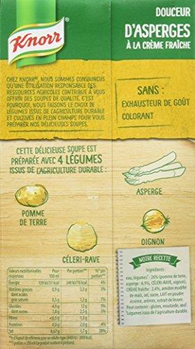 Knorr Soupe Douceur d'Asperges à La Crème Fraîche 1 L