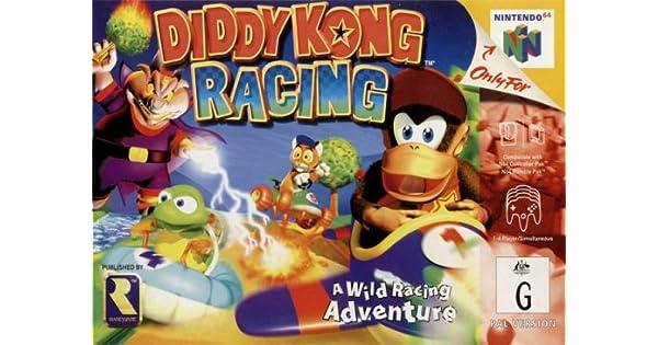 Diddy Kong Racing N64 Nintendo 64 Amazoncouk Pc Video Games