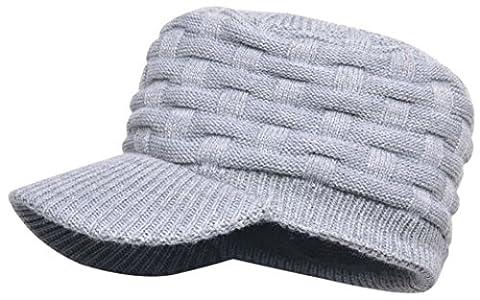 dexshell Bonnet imperméable à visière gris Gris taille unique