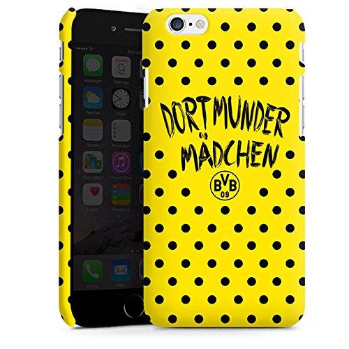 Apple iPhone X Silikon Hülle Case Schutzhülle Dortmunder Mädchen Borussia Dortmund BVB Premium Case matt