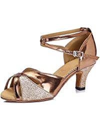 Sandalias Vestir De Amazon Zapatos es Bronce Color 5qXaz6aw