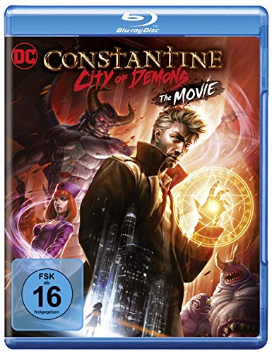 DC Constantine: City of Demons [Blu-ray] (Shop Halloween Dc)