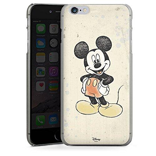 Apple iPhone 6s Silikon Hülle Case Schutzhülle Disney Mickey Mouse Merchandise Geschenke Hard Case anthrazit-klar