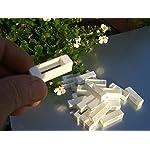simonthebeekeeper 50 Narrow bee hive plastic frame ends/spacers 8