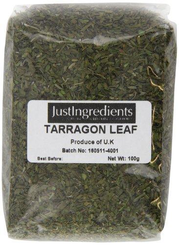 JustIngredients Estragon, Tarragon, 5er Pack (5 x 100 g)