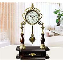 Stumme Antike Kingsize Wohnzimmer Garten Uhr Ist Moderne Kreative Pendeluhren Quarz