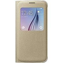 Samsung BT-EFCG920 - Funda oficial para Samsung Galaxy S6 G920, color amarillo
