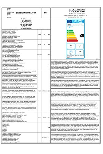 Olimpia Splendid 01914 Dolceclima Compact 9 P