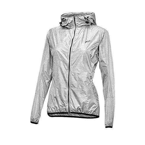 Protective Damen P-Cover Wind Jacke, Silver, 38