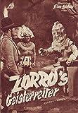 Illustrierte Film-Bühne Zorro`s Geisterreiter Nr. 1176