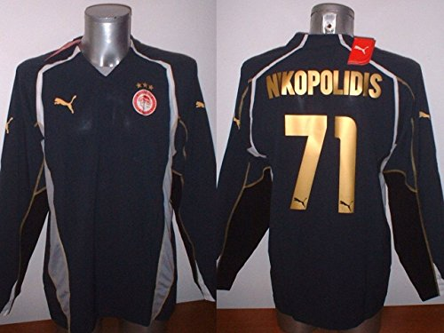 olympiakos-nikopolidis-greece-adult-large-siemens-shirt-jersey-football-soccer-puma-bnwt-olympiacos-
