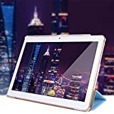 NIUQY Mode Sicherheit Stoßfest Verlustprävention Universal Folio Leather Stand Cover Case Geeignet für 10 10,1 Zoll Android Tablet PC Personalisiert Luxus kompatibel Haltbares Tragbarer Fitting