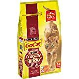 Go-Cat Crunchy and Tender Cat Food Beef, 1.5 kg