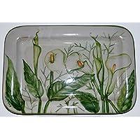 Vassoio - Linea Calle - Handmade - Le Ceramiche del Castello - 100% Made in Italy- Pezzo Unico
