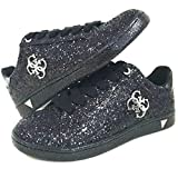 Guess Black Glitter Ladies America Sneakers