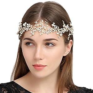 Handgefertigt Kristall Strass Hochzeit Head Band Haarschmuck Zubehör Strassbesatz