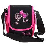 Barbie Bolso Bandolera, Color Negro y Rosa