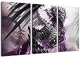 guild wars 3-Teilig auf Leinwand, XXL riesige Bilder fertig gerahmt mit Keilrahmen, Kunstdruck auf Wandbild mit Rahmen