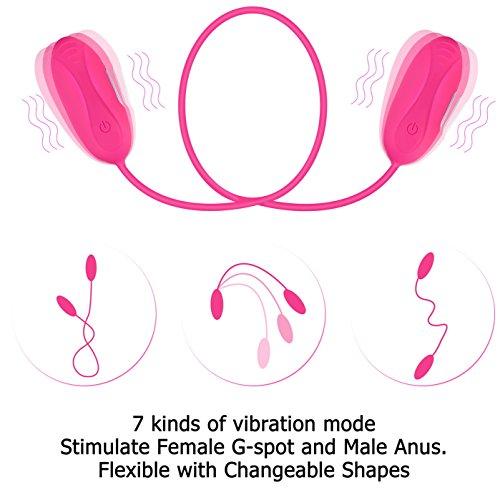 Proxoxo Erotic Vibratoren für Sie Klitoris und G-punkt Sexspielzeug Paar Vibrator für Frauen und Paar Silikon Damen Herren Anal Vibratoren Klitorisstimulation - 4