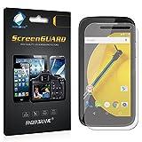 3 x Membrane Films de protection ecran Motorola Moto E (2015) - Ultra clair, kit d'installation