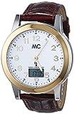 MC Timetrend Herren-Armbanduhr XL Analog - Digital Quarz Leder 27424