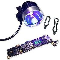 Máscara de soldadura para reparación de rayos UV PCB con luz LED de curación, ...